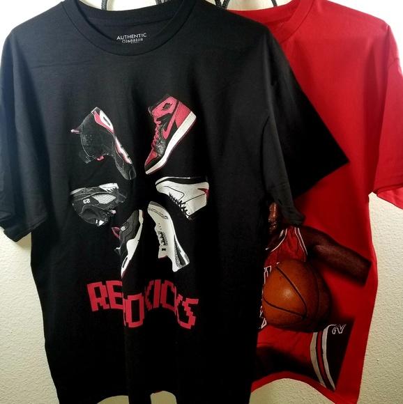 2a68e6a8066 AUTHENTIC CLASSICS Shirts | New Michael Jordan 3peat And Retro Kicks ...